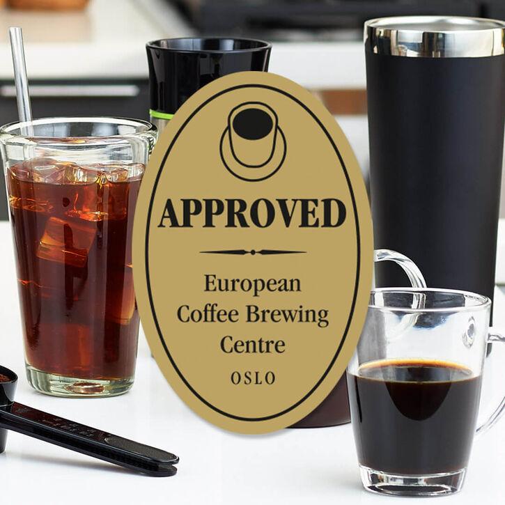 Certificeret af European Coffee Brewing Center (ECBC)